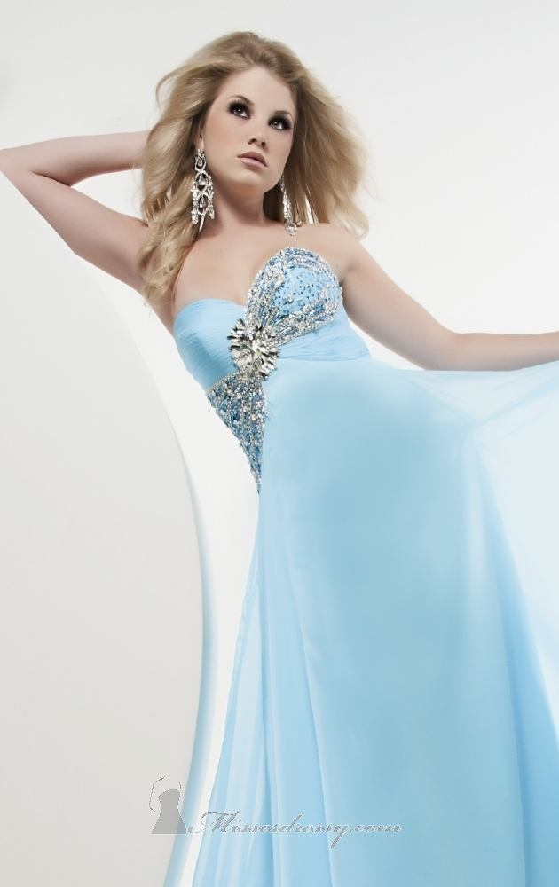 uk prom dresses with blue color