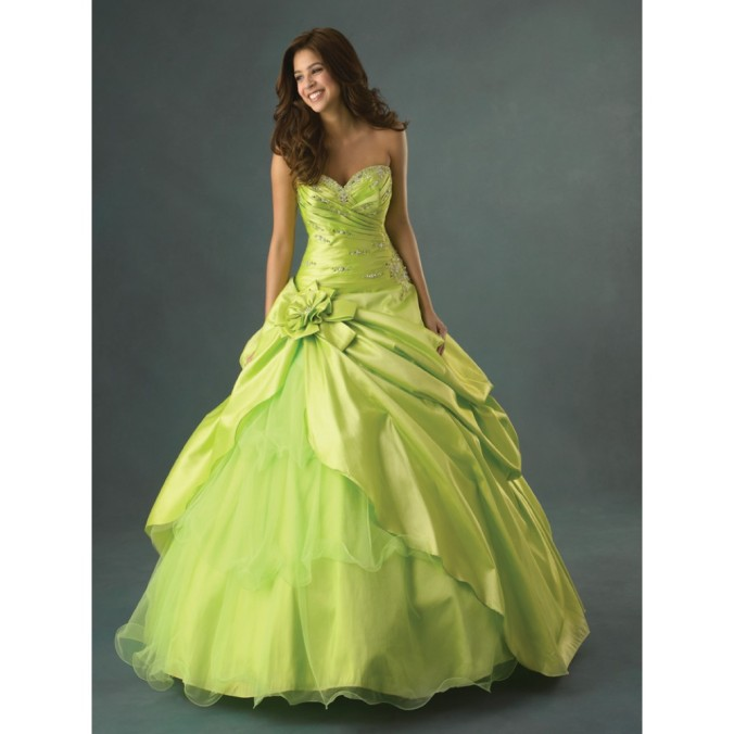 green ball prom gowns uk